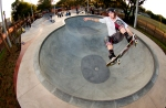 Anthony Furlong, Frontside Tailgrab, Providence East Skatepark, Brandon, FL. Photo © No Comply Skateboard Mag