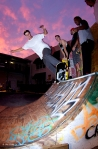 Brad Chambers, 5-0 to fakie, ArtDeckO @ ArtSlam 2011, Bradenton, FL. Photo_Nicks.