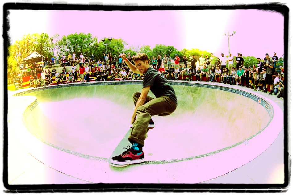 Spencer Lau, Crailslide, 2012 Florida Bowlriders Cup, Kona Skatepark, Jacksonville, FL. Photo © No Comply Skateboard Mag 2012