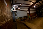 Brandon Yarborough, Crail stall off the wall.