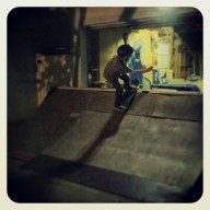 @allreadydead, Rock to fakie.