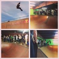 "Scenes from the ""Old Man Jam"" at SPoT. Photo @derek_antiair"