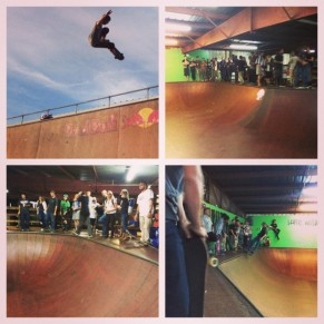"Scenes from the ""Old Man Jam"" at SPoT. Photo @derek_antiair"