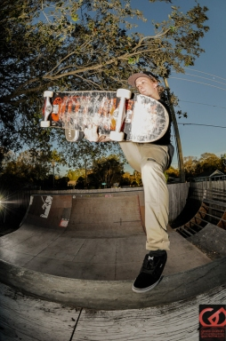 Logan Mitchell, Backyard Ramp, Sarasota, FL.