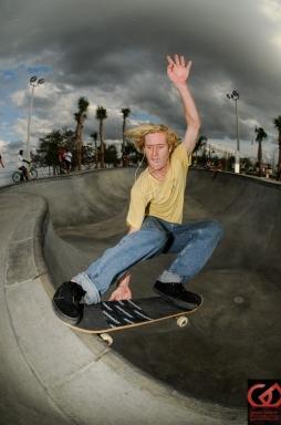Trevor Brice, Frontside Stale-Slide, Bradenton Riverwalk Skatepark, Bradenton, FL.