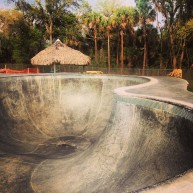 New Smyrna Beach Skatepark. Photo @derek_antiair
