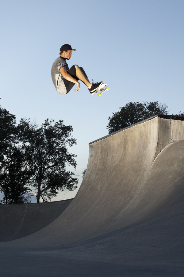 Drew Hoffman, Frontside Booster, New Smyrna Beach, FL. Photo_Nick Perry.