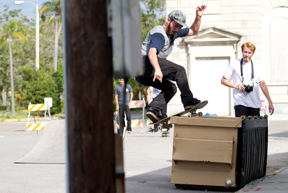 Anthony Biggs, FS Boardslide, Freshly Squeezed One-Year Anniversary Party, St. Petersburg, FL.