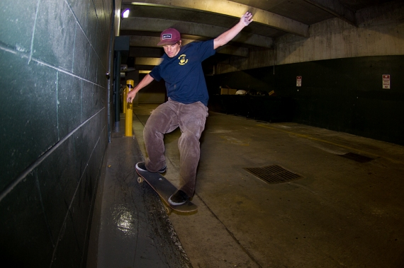 Mat Call, Late-Night Parking Garage Smith Grind, Bradenton, FL.